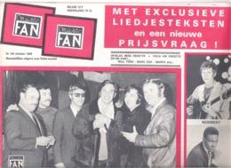 MUSIC FAN  NR 104 VAN  OKTOBER  1969  - WILL TURA - ELVIS - DANYEL DIRK -. GROOT FORMAAT - NEDERLANDS  (MF 104 ) - Tijdschriften