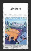 Monaco 2018 - Yv N° 3121 ** - Rolex Monte-Carlo Masters - Monaco