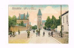 Bourg-Léopold.Eglise Et La Poste.Expédié De Leopoldsburg à Poperinghe.Animé.Militaires. - Leopoldsburg