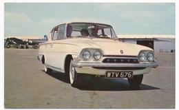 Old Car, Auto Automobilia CONSUL 315 FOUR DOOR FORD   Vintage Old Photo Postcard - Voitures De Tourisme