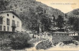 St Saint-Georges-les-Bains (Ardèche) - Etablissement Thermal (piscine) - Carte Non Circulée - France