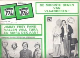 MUSIC FAN  NR 105 VAN  NOVEMBER 1969  - WILL TURA - PERCY SLEDGE - BOBBIE GENTRY-  GROOT FORMAAT - NEDERLANDS  (MF 105 ) - Tijdschriften