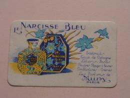 Le NARCISSE BLEU - Les Parfum De MURY Paris ( Voir Photo Pour Detail Svp ) Format +/- 9 X 5,5 Cm. ! - Duftkarten