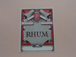 RHUM Grand Arôme ( Mvdh - 1066 ) Format +/- 9 X 12 Cm. ! - Rhum