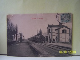 """PAYNS (AUBE) LES TRAINS. LA GARE.    100_2590""""b"""" - Autres Communes"""