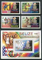 BELIZE 1984 - Yvert 676 79 BF 52 - Sport J O Velo Boxe - Neuf * (MLH) Legere Alteration De La Gomme (voir Scan) - Belize (1973-...)