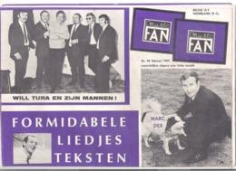 MUSIC FAN  NR 96 VAN FEBRUARI 1969  - WILL TURA - MARC DEX - MARMALADE-  GROOT FORMAAT - NEDERLANDS  (MF 96 ) - Tijdschriften