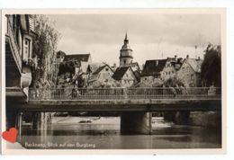 37382-ZE-ALLEMAGNE-Backnang,Bilck Auf Den Burgberg - Deutschland