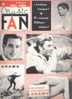 MUSIC FAN  NR 55 VAN 10 SEPTEMBER 1965  - WILL TURA - ELVIS - ADAMO - JOHNNY .. - NEDERLANDS  (MF 55 ) - Tijdschriften