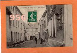 CPA * * MONTFORT-L'AMAURY * * Rue De Paris, Arrivée De La Gare - Montfort L'Amaury