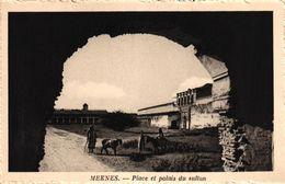 MAROC - MEKNES - PLACE ET PALAIS DU SULTAN - Meknes