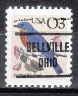USA Precancel Vorausentwertung Preo, Locals Ohio, Belleville 721 - Vereinigte Staaten