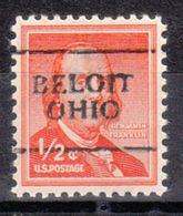 USA Precancel Vorausentwertung Preo, Locals Ohio, Beloit 701 - Vereinigte Staaten