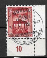 LOTE 1624   ///     (C060)  ALEMANIA IMPERIO  YVERT Nº: 761  CON FECHADOR DE BERLIN - Alemania