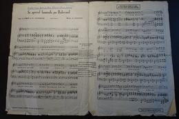 Rumänien; Partiture; Se-aprind Luminile Pe Bulevard Von Gherase Dendrino; Fox-Trot - Noten & Partituren