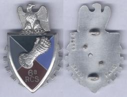 Insigne Du 6e Régiment De Commandement Et De Soutien De La 6e Division Blindée - Hueste