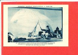 75 PARIS EXPO 1931 Cpa Animée Panorama Du Groenland        Pavillon Du Danemark - Exhibitions