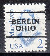 USA Precancel Vorausentwertung Preo, Locals Ohio, Berlin 701 - Vereinigte Staaten