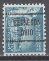 USA Precancel Vorausentwertung Preo, Locals Ohio, Bethesda 721 - Vereinigte Staaten