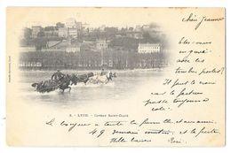 Cpa: 69 LYON - Coteau Saint Clair (Cavaliers Et Chevaux, Précurseur) 1900  Ed. Jumelle Sylvestre  N° 2 - Lyon