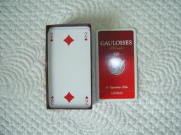 JEU DE TAROT PUBLICITAIRE GAULOISES BLONDES - Tarot-Karten