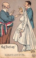 Illustration - Nos Dict-on - Mariage Couple Le Maire - Illustrateur Griff - Griff