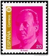 ESPAÑA 2000 - SELLO BASICA DEL REY JUAN CARLOS (20 PTAS) - EDIFIL Nº 3775 - 1931-Aujourd'hui: II. République - ....Juan Carlos I