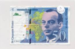 Billets -B3061- France 50 Francs 1997 (type, Nature, Valeur, état... Voir  Double Scan) - 1992-2000 Laatste Reeks