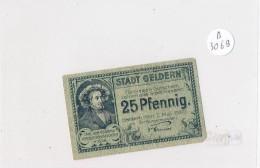 Billets -B3069- Allemagne - 25 Pfennig 1920 (type, Nature, Valeur, état... Voir  Double Scan) - Zwischenscheine - Schatzanweisungen