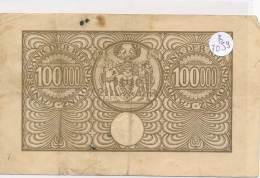 Billets -B3059- Allemagne - 100 000 Mark  1923 (type, Nature, Valeur, état... Voir  Double Scan) - Zwischenscheine - Schatzanweisungen