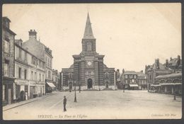 Yvetot - La Place De L'Eglise - Coll. ND Phot. N° 10 - Voir 2 Scans - Yvetot