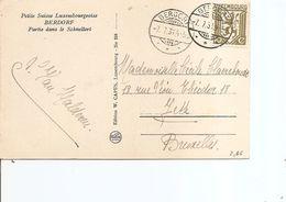 Luxembourg ( CP De 1931 De Berdorf Vers La Belgique à Voir) - Luxembourg