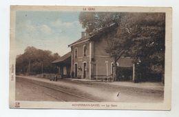 32 - MONFERRAN-SAVES - La Gare En 1952 - Correspondance De Monferran - - Autres Communes