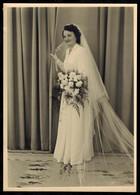 Photo 17.5 X 12.5 - Femme Mariée Par Pétillon à Rosporden Bretagne --- Del043b - Anonymous Persons