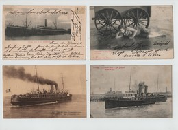 BELGIUM MARITIME OSTEND DOVER 1902-1963 - Documents Of Postal Services