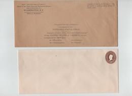 USA UPU SPECIMEN POSTAL STATIONERY 1899 PRES'S FRANKLIN,LINCOLN,WASHINGTON,GRANT - 1847-99 General Issues