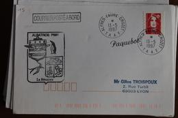 1997    -     ALABTROS   P   681      ENVELOPPE  COMPLETE - Terres Australes Et Antarctiques Françaises (TAAF)