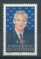 Liechtenstein  N°966** Prince Hans-Adam II De Liechtenstein - Liechtenstein