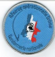 Ecusson GENDARMERIE  RESERVE OPERATIONNELLE DE LA DROME - Police