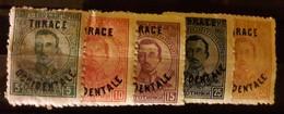 Antichi Francobolli Tracia Occidentale - 1909-45 Regno