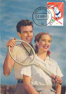 D32743 CARTE MAXIMUM CARD RR FD 1999 NETHERLANDS - TENNIS CP VINTAGE ORIGINAL - Tennis