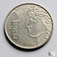 Argentina - 2 Pesos - 2010 - Argentina