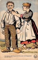 Illustration - Une Femme Bougrement Bon Et Mauvais Aussi - Couple Humour - Illustrateur Griff - Griff