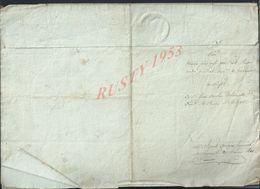 NAPOLÉON PAR LA GRACE DE DIEU ACTE DE LAGNY 1810 LIRE TOUT NE SERA PAS SCANNER 4 PAGES : - Manuscripts
