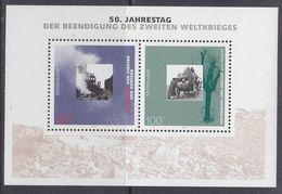 Germany 1995 50J Beeindigung Zweiten Weltkrieges M/s ** Mnh (GERM 204) - [7] West-Duitsland