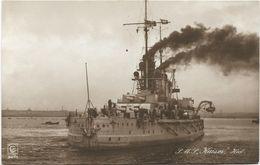 Foto AK SMS Kaiser Heck Ca. 1915 Großlinienschiff Schlachtschiff Kaiserliche Marine - Guerre 1914-18
