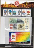 _4Za-777: Set 1977: 6 Stamps + 2 Mini-sheets Mnh - 1997-... Région Administrative Chinoise