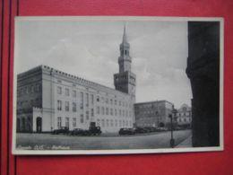 Opole / Oppeln O./S. - Rathaus / Auto! - Polonia