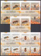 B971 2012 BURUNDI INSECTS HONEYBEES ABEILLES !!! 5KB MNH - Bienen