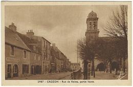 CROZON - Rue De Reims, Partie Haute. Le Doaré 2987 - Crozon